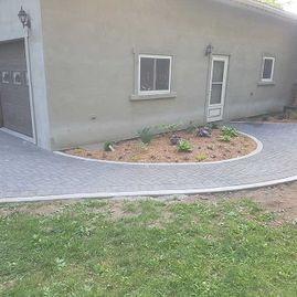 Landscaping for driveways